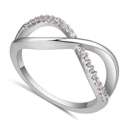 Cirkónia köves gyűrű, 6,5