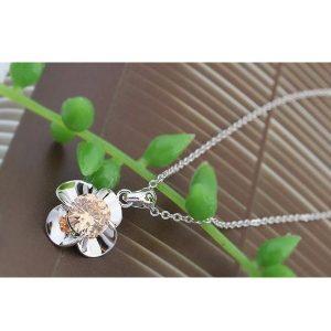 Virág alakú ékszer szett, Pezsgő