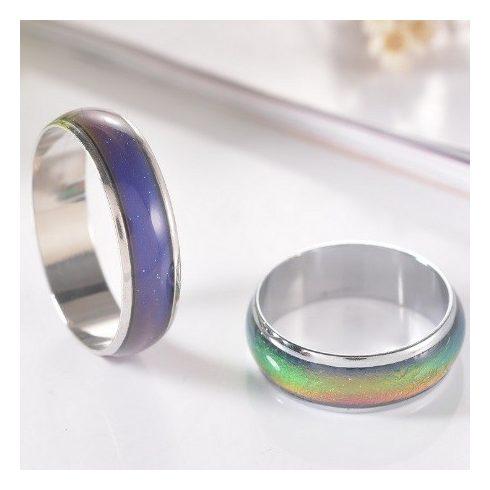 Hangulatgyűrű, karikagyűrű, 10-es méret