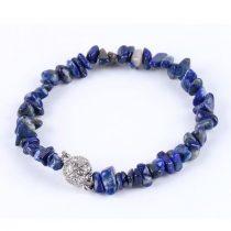 Meditációs karkötő, lápisz lazuli