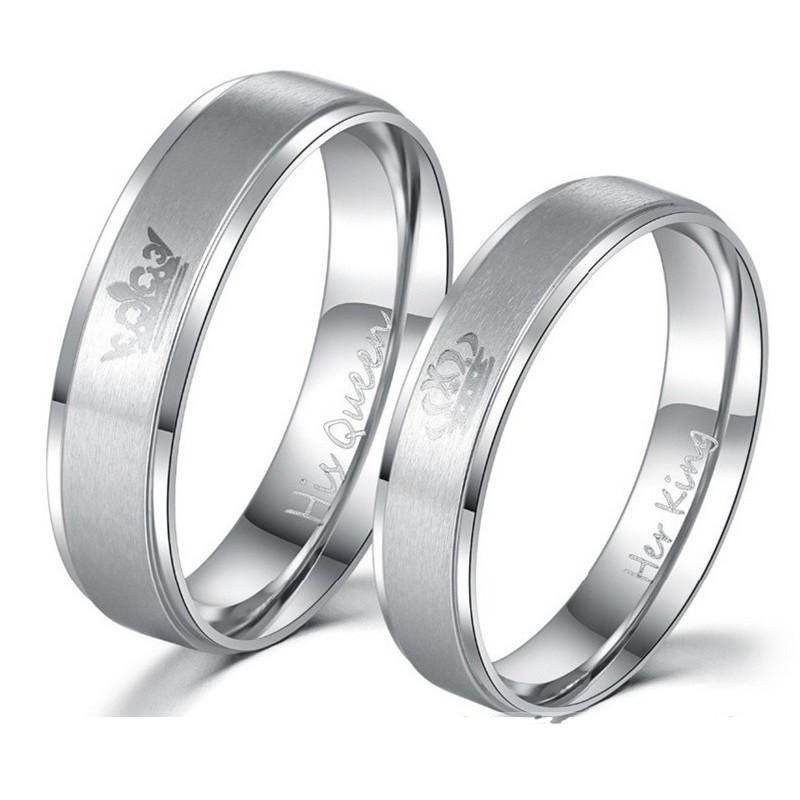 női karikagyűrű párban