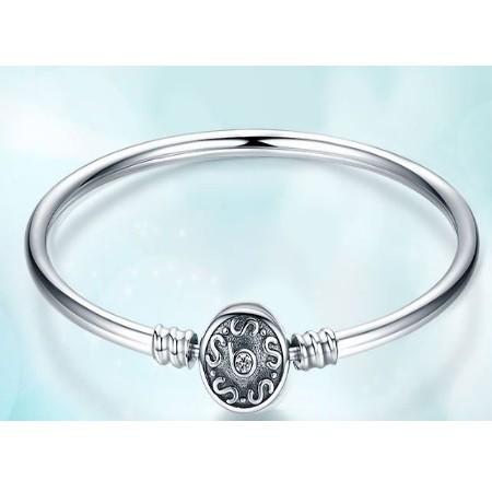 5af1743673 Kígyómintás ezüst karperec, 19 cm (Pandora stílus) - Ezüst ...