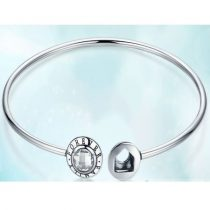 Forever Family ezüst karperec (Pandora stílus)