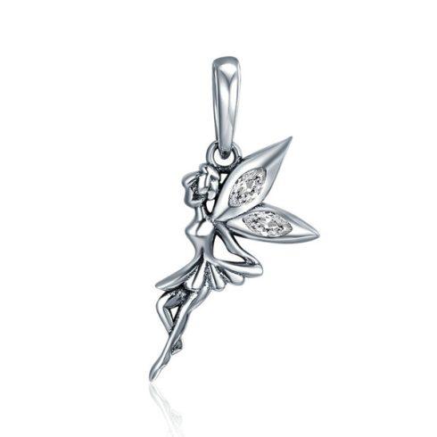 Ezüst tündér charm cirkóniumkristállyal -  Pandora stílus