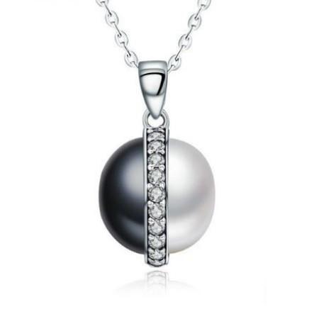 Ezüst nyaklánc gyöngy medállal 11d1d5f674