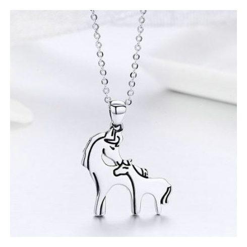 legyőzhetetlen x elég szép sportcipő Ezüst nyaklánc lovas medállal (Pandora stílus) - Ezüst, Swarovski ...