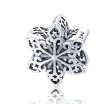 Ezüst hópihe charm