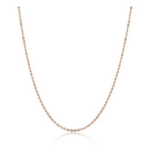 Ezüst nyaklánc, rosegold