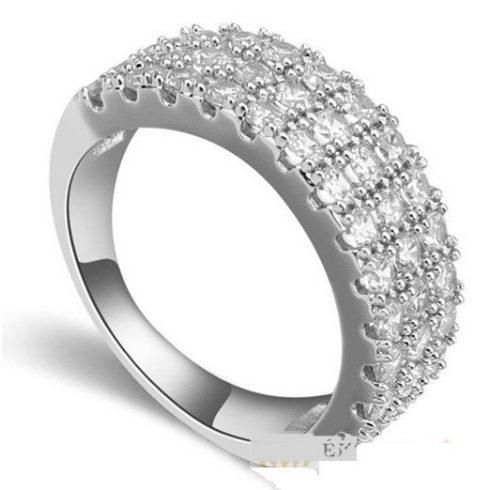 Klasszikus kör alakú gyűrű, 8,5