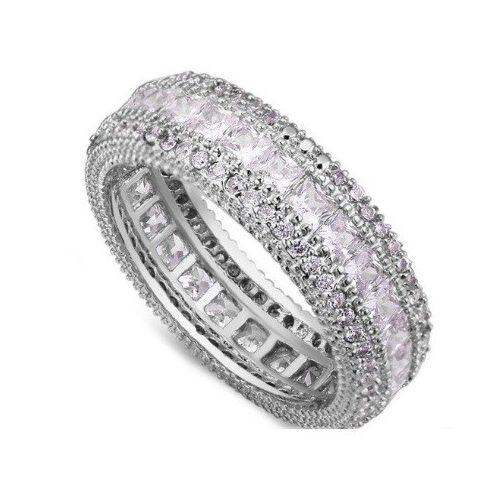Elegáns karika gyűrű, 6,5