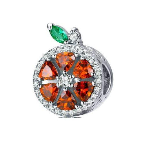 Ezüst charm, grapefruit