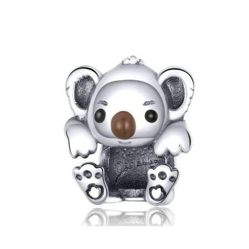 Ezüst charm, koala