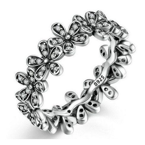 Virágos ezüst gyűrű, 7