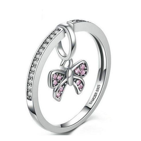 Pillangós ezüst gyűrű, 7